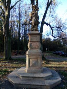 Slavnost u příležitosti restaurování sochy sv. Jana Nepomuckého