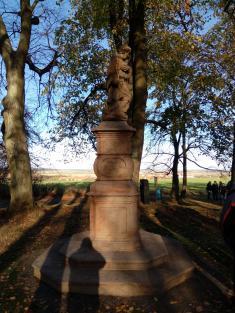 slavnost u příležitosti restaurování sochy sv. Jana Nepomuckého dne 28.10.2019