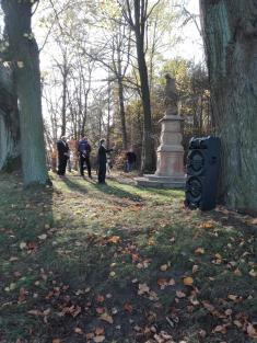 slavnost upříležitosti restaurování sochy sv.Jana Nepomuckého dne 28.10.2019 1
